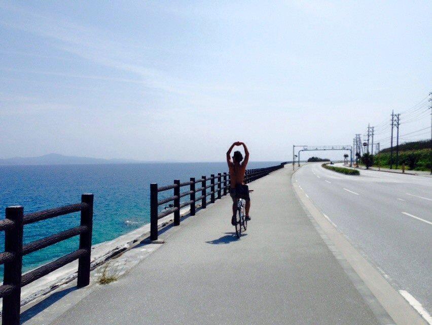 気持ちの良い海辺をロングライド