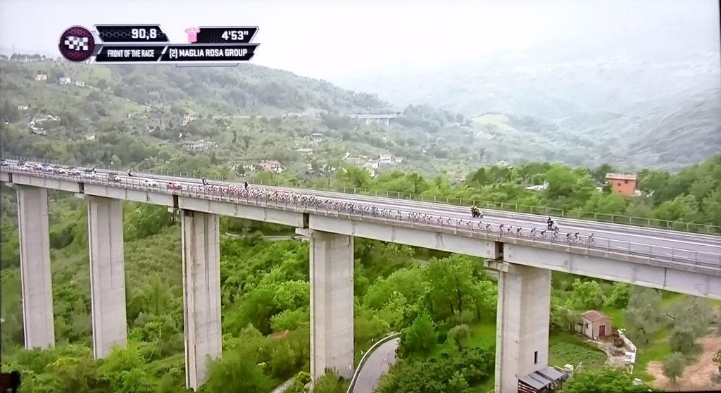 こんな高い橋があるイタリア