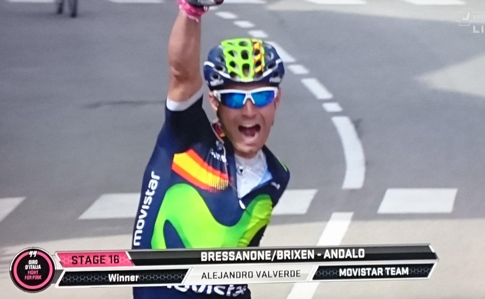 バルベルデ ジロ初優勝